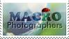 MacroPhotographers Stamp by VeraCotuna