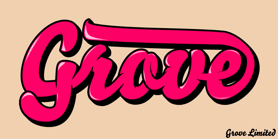 Grove Limited - Clothing Brand Logo by ~Chriox