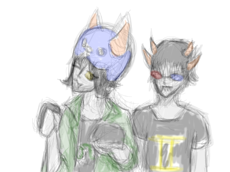 Homestuck fa nepeta n sollux by wolvesftw190 on deviantart