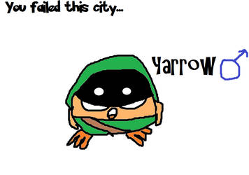 Yarrow as Green Arrow by Epicwott