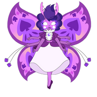 Eclipsas butterfly form by infaminxy