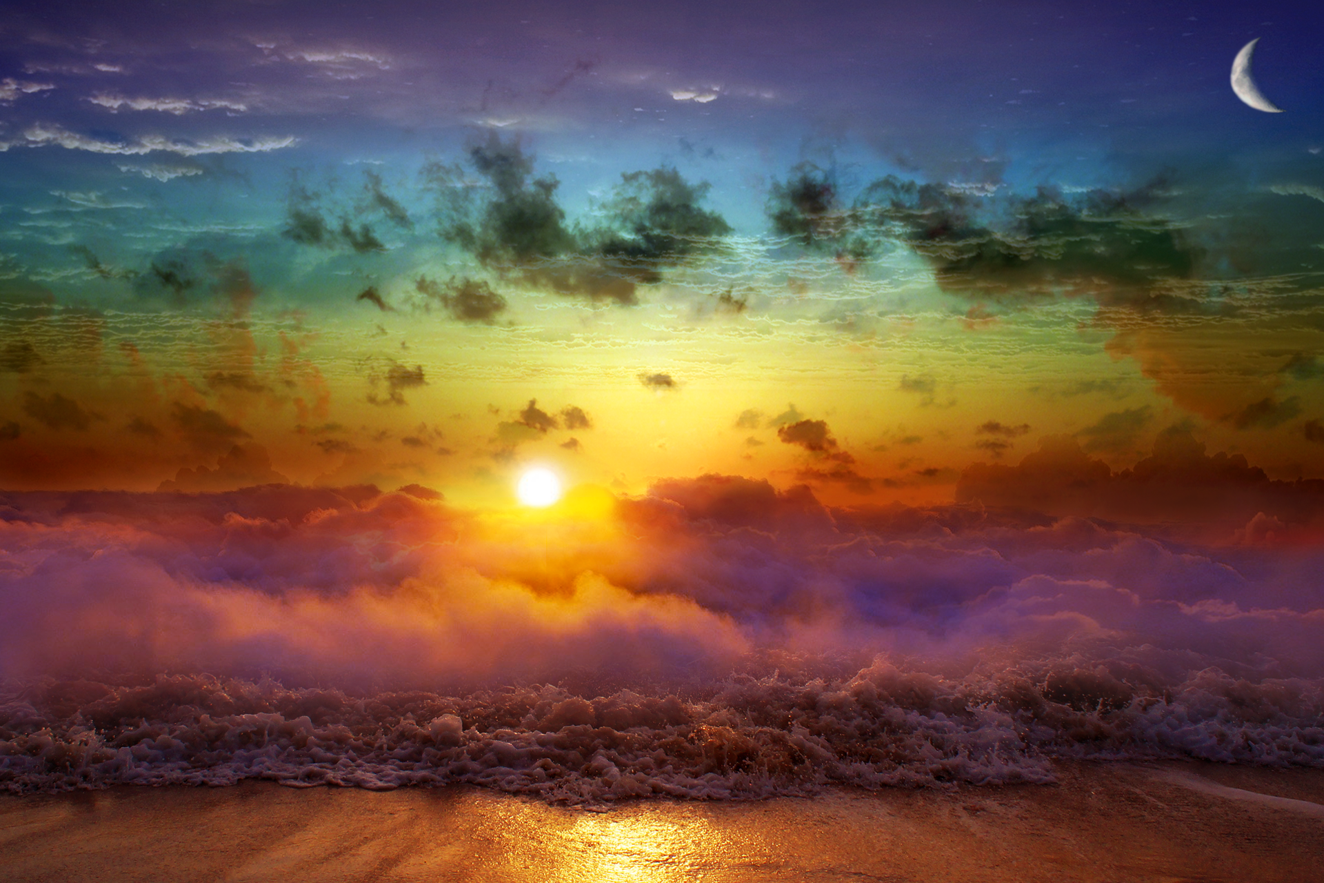 Heaven's Shoreline by americanpsycho