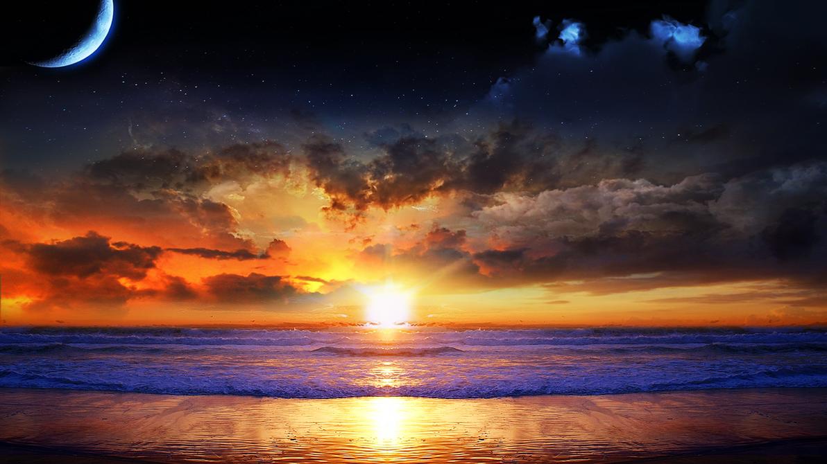 Vulcan Sunrise by americanpsycho