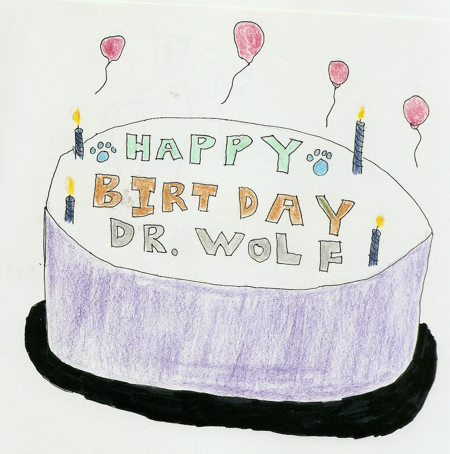 Belated Birthday Cake by NelsonDemifur