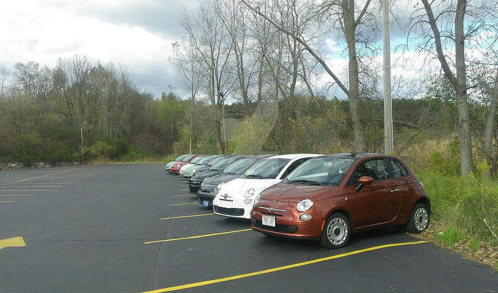 Friendly Fiats all in a row by AliasBurn