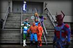 Fantastic Four photo-shoot