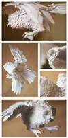 Paper Sculpture - Owl