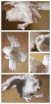 Paper Sculpture - Owl