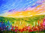 Field of Flowers Jessica T Hamilton