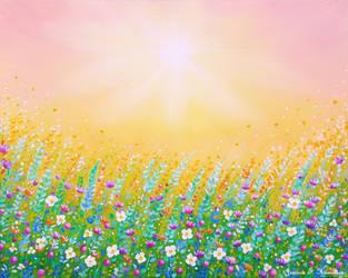 Warm Spring Morning, Oils, 20x16, Jessica Hamilton