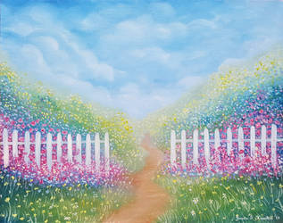 Path to A Dream, Oil on Canvas by JessicaTHamilton