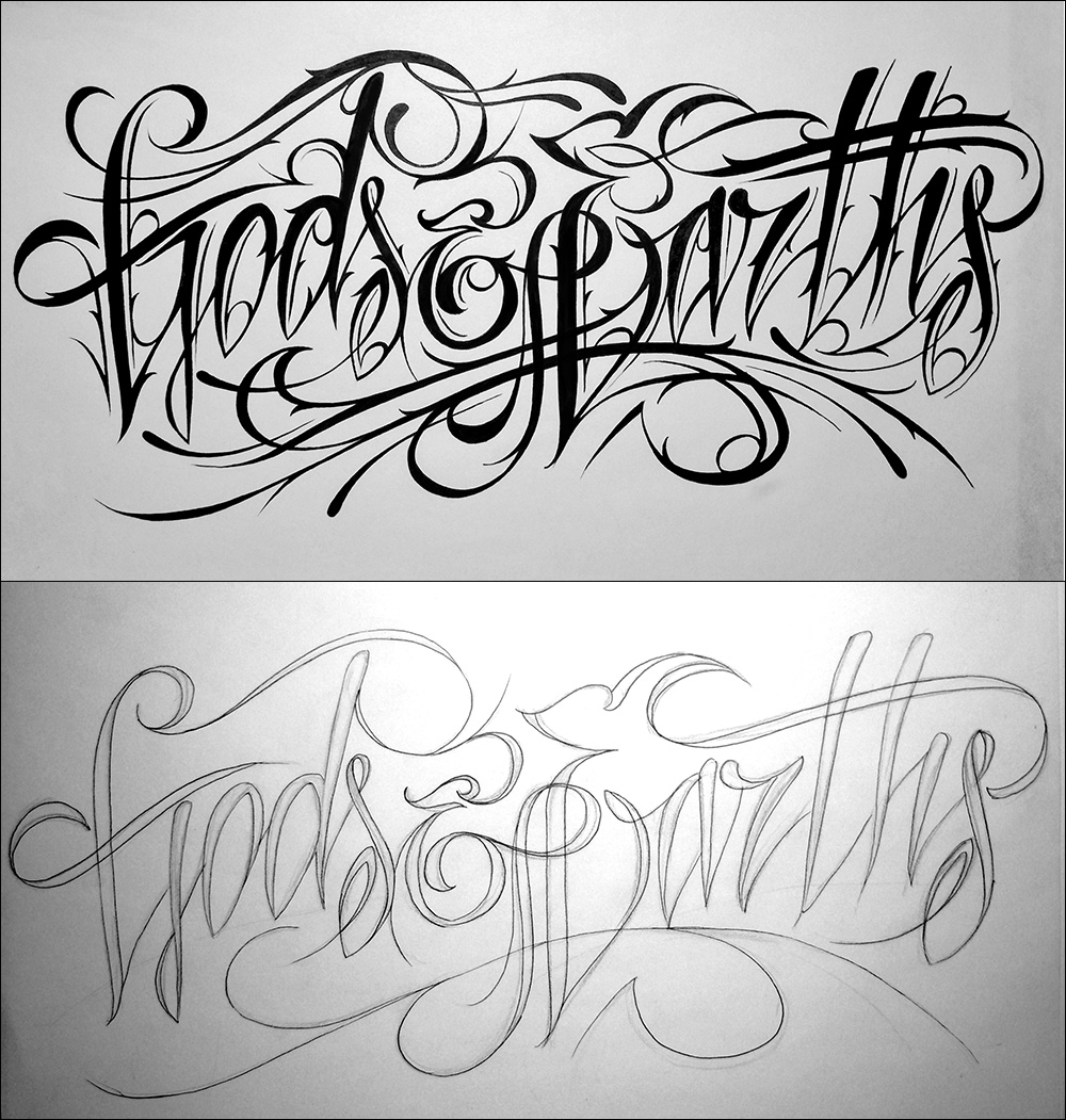 Typography Inspiration: Calligraphy