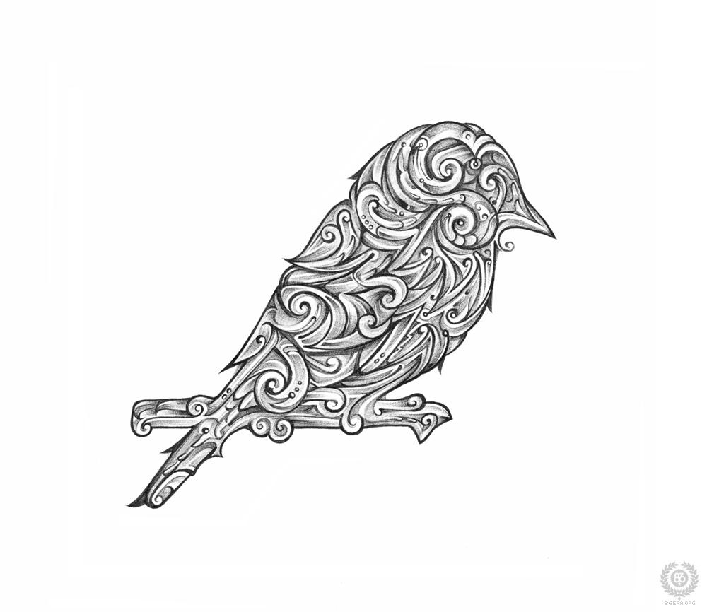 Nervmusic bird by lordmx