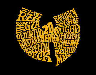 Wu-Tang Clan 20th Anniversary by lordmx
