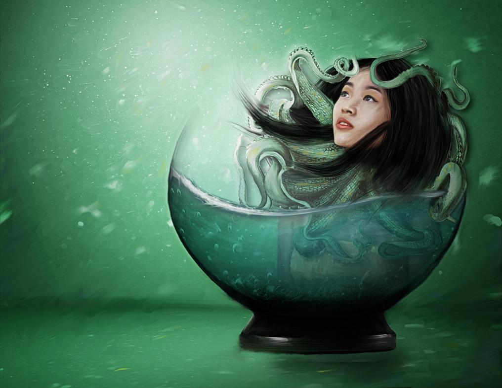 Sea Queen (remake) by nekitsu