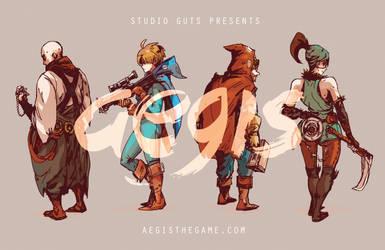 Aegis - Characters by buraisuko