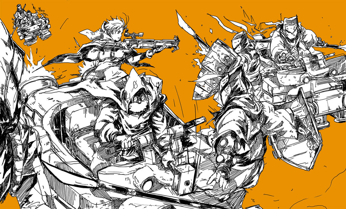 Hovercraft Attack by buraisuko
