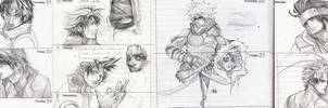 sketch 23 - lots of sketches