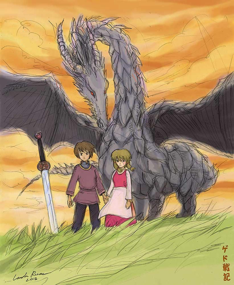 Gedo Senki (Tales from Earthsea) by N-City