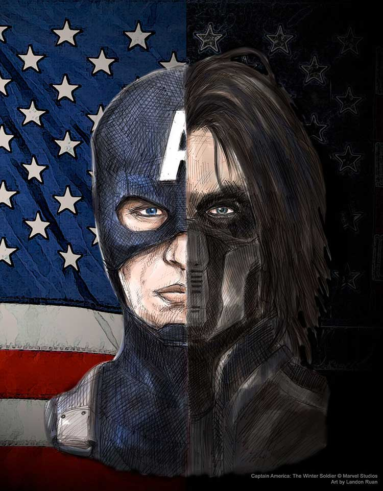 Captain America: The Winter Soldier by ncillustration