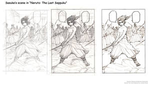 Naruto The Last Seppuku drawing steps! by ncillustration