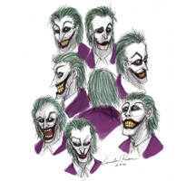 Faces of The Joker by ncillustration