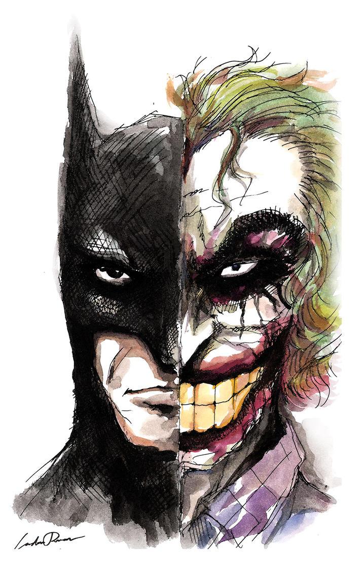 Batman-Joker by N-City