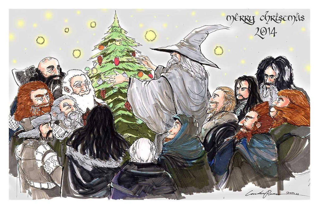 Merry Christmas 2014 (Tolkien edition) by N-City