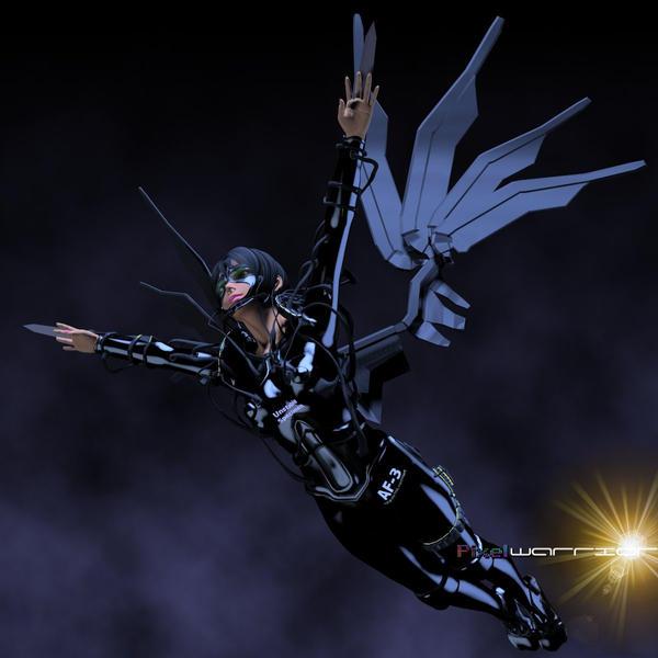 Zaibora flying babe