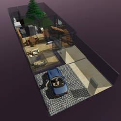 Residential interior,