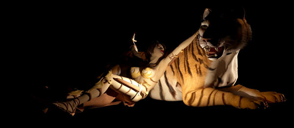 Warrior and Tiger
