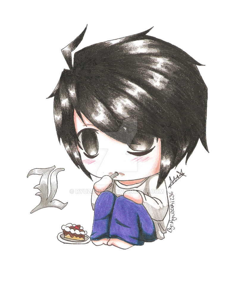 Chibi Lawliet by Ryuzaki236 on DeviantArt