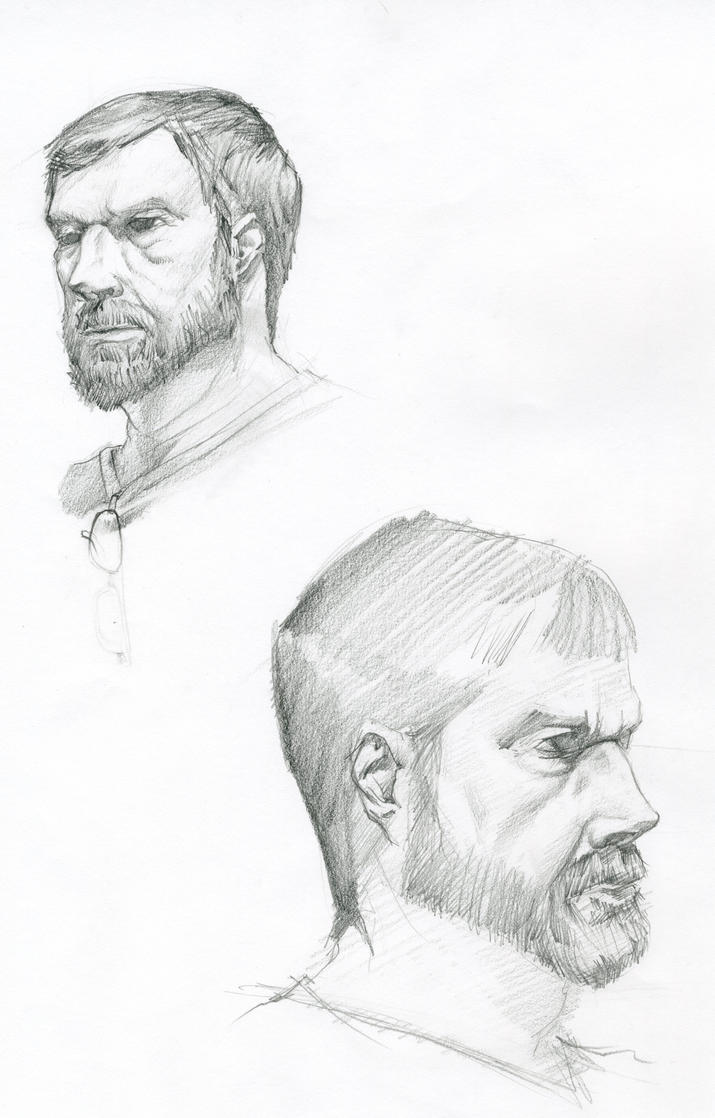 male model life drawing face by MATking on DeviantArt