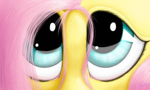 Fluttershy's eyes by The1Xeno1