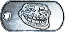 Battlefield 3 Troll Face Dog-Tag by CrazyDave55811