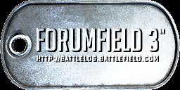 Battlefield 3 ''Forumfield 3'' Dog-Tag by CrazyDave55811