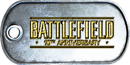 Battlefield 3 BF 10th Anniversary Dog-Tag by CrazyDave55811