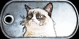 Battlefield 3 Grumpy Cat Dog-Tag by CrazyDave55811