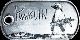 Battlefield 3 ''Pwnguin'' Dog-Tag by CrazyDave55811