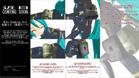 MMD WIP - Miku Sneaking Suit - 03-08-2014