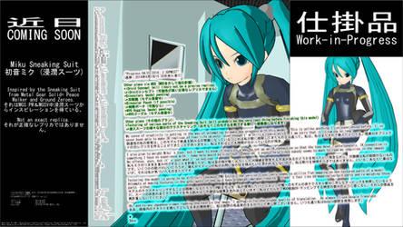 MMD WIP - Miku Sneaking Suit - 04-01-2014