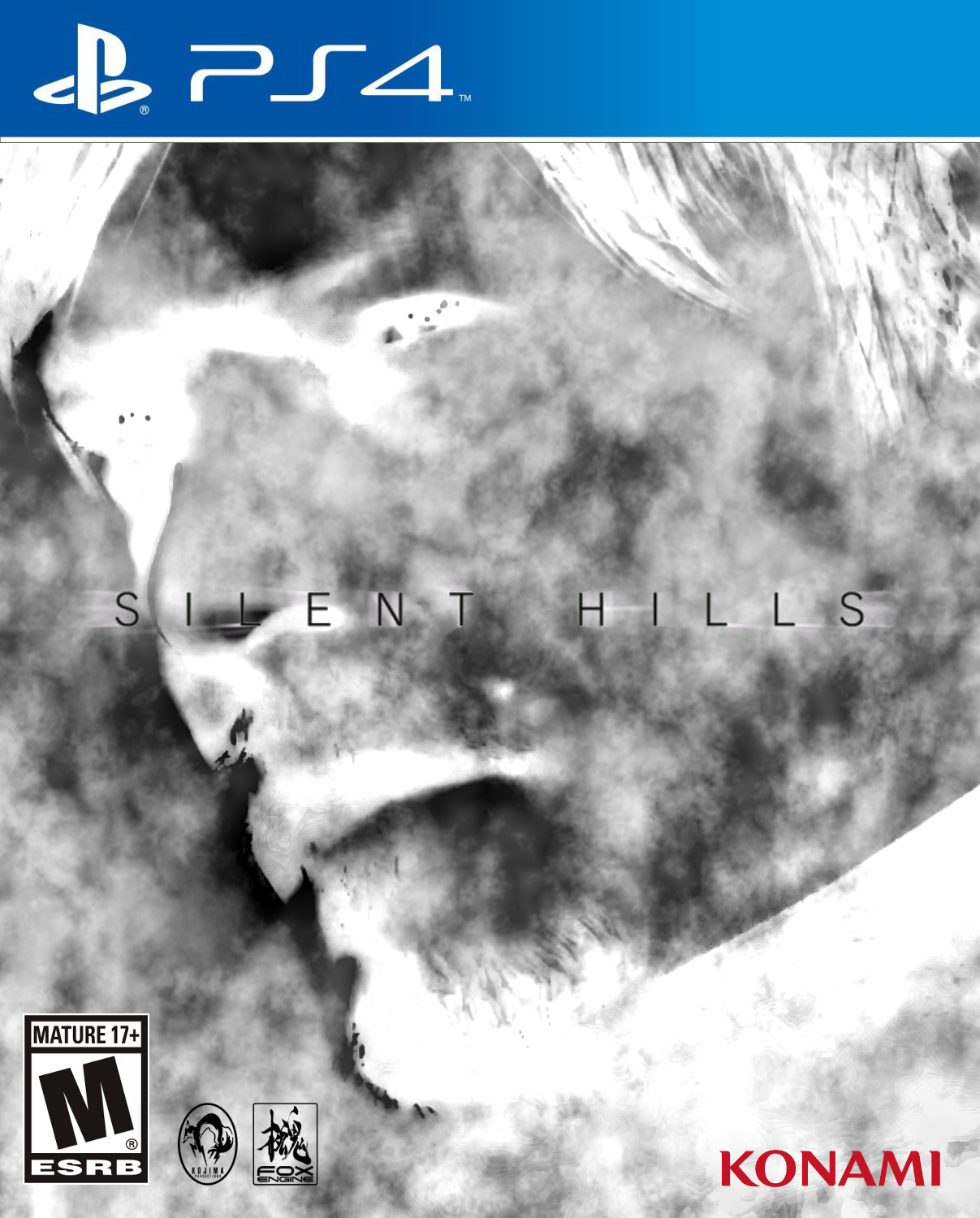 Silent Hills PS4 Box Art 20140903-2054 - V1-11-3 by CrazyDave55811