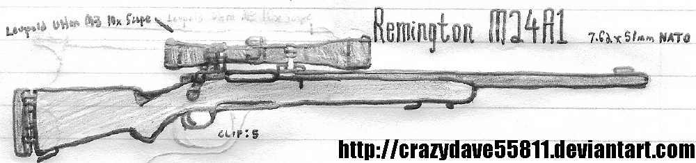 M24a1 Remington M24A1 by