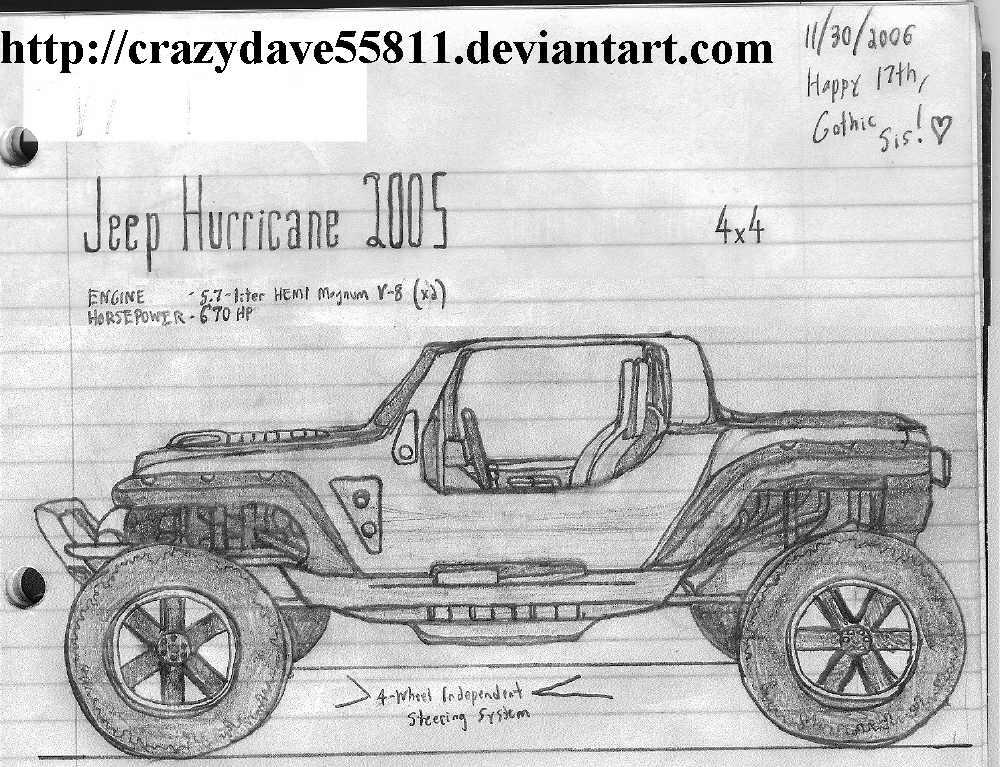 Jeep hurricane 2005 by crazydave55811 on deviantart jeep hurricane 2005 by crazydave55811 malvernweather Image collections