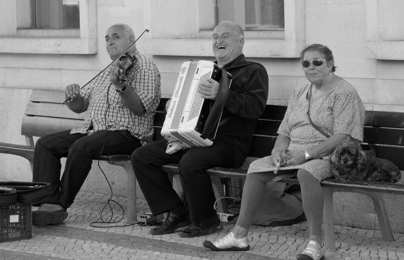 STREET MUSICIANS by BlonderMoment