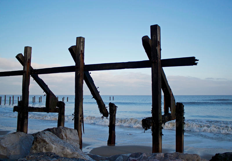 WINTER ON HAPPISBURGH BEACH by BlonderMoment
