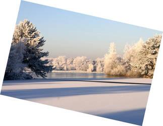 Snow Landscape by CeeJa