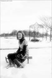 Snowy Princess 4 by CeeJa
