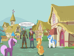 Witcher VS Ponyville