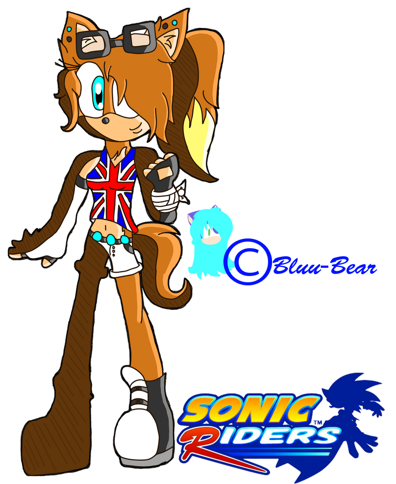 Sasha .::Sonic Riders Style::. by MissParisBoo